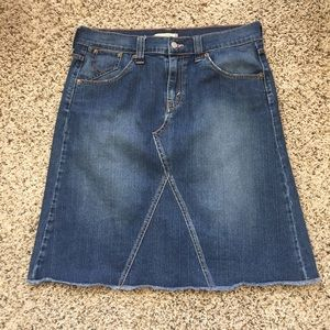 Levi's Jean Skirt size 14!